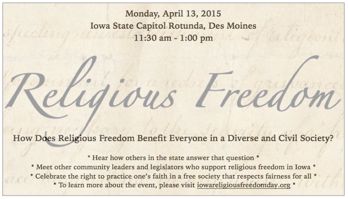 Religious Freedom Day At The Capitol