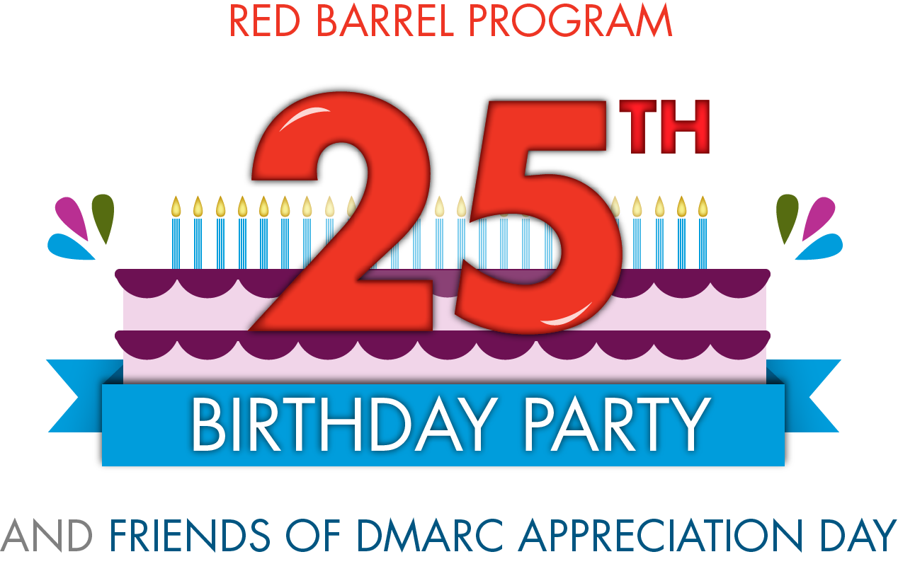Red Barrel 25th Birthday and app