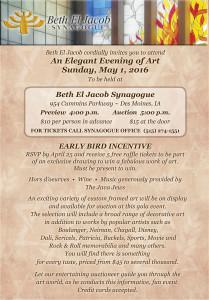 An Elegant Evening of Art - Beth El Jacob