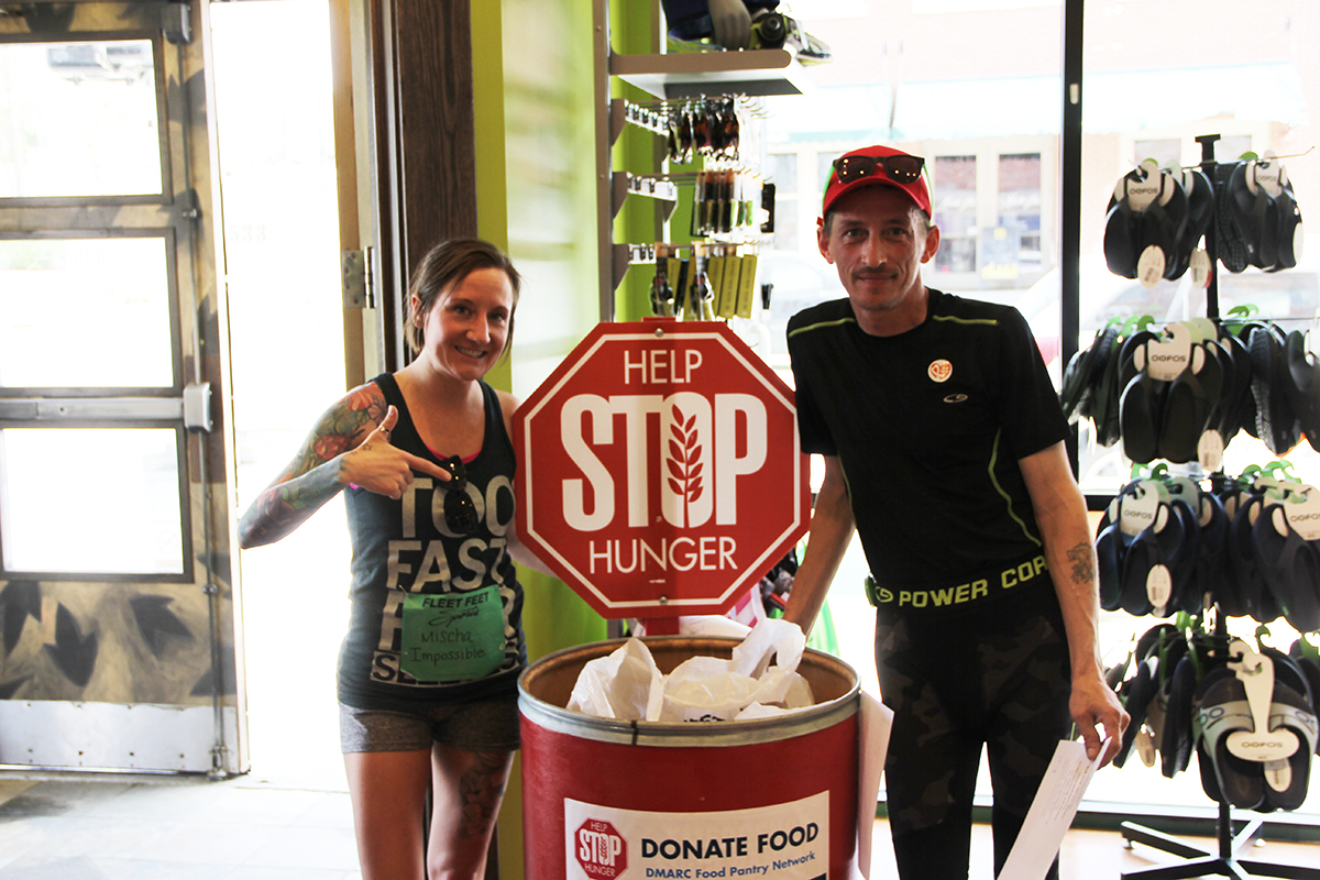 Fleet Feet Sports Hosts Run Your Can Off Relay Race