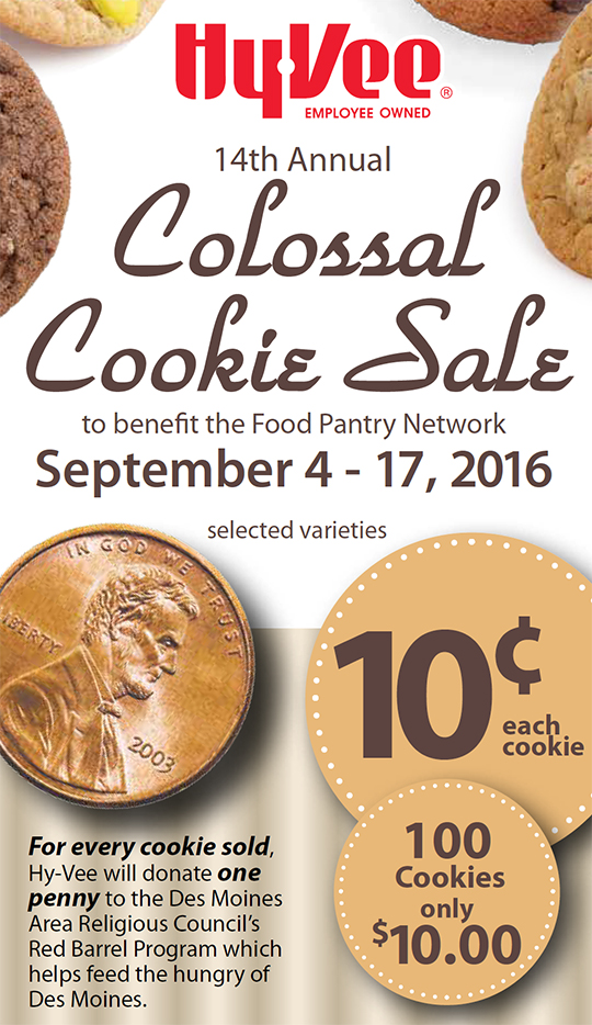 14th Annual Colossal Cookie Sale