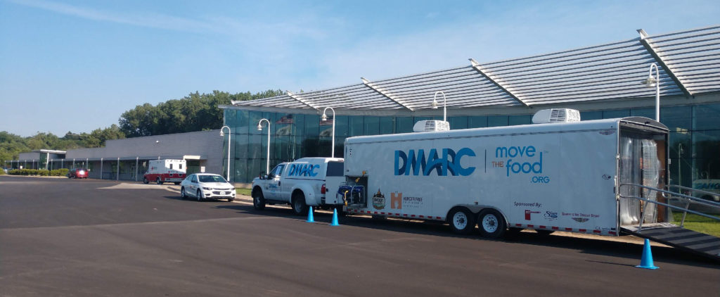 Dmarc Mobile Food Pantry Responds To Flooding