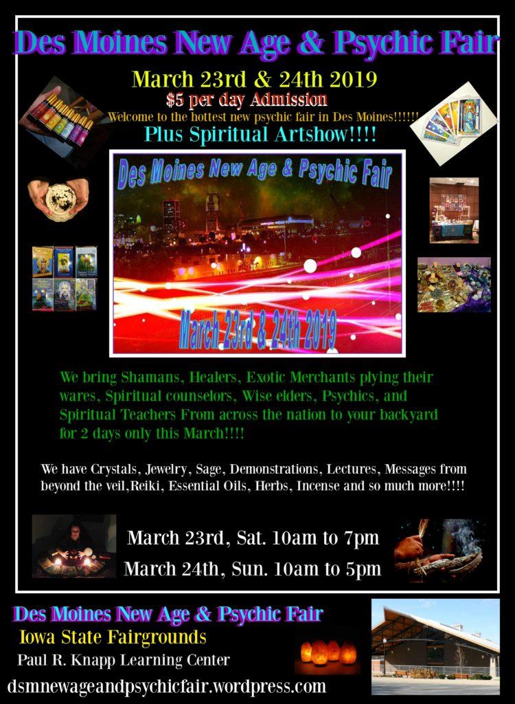 Des Moines New Age Amp Psychic Fair