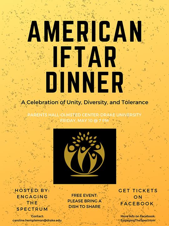 American Iftar Dinner |