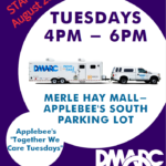 DMARC Launches New Mobile Food Pantry Site at Merle Hay Mall